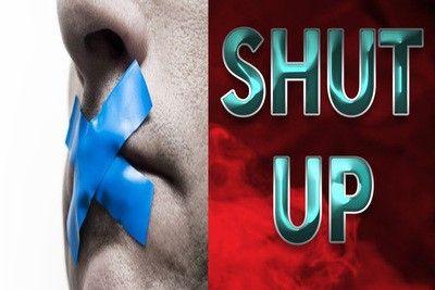 161623 - SHUT UP