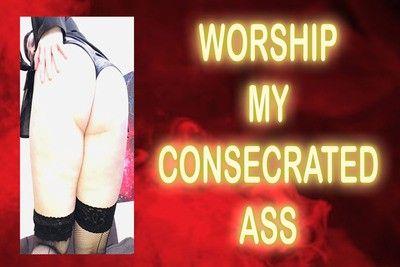 166292 - WORSHIP MY CONSECRATED ASS