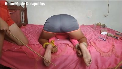151248 - Francelys cruel tickled by two friends