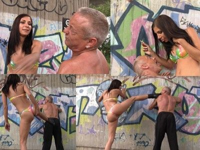 155834 - Princess Rachel femdom lessons for slave tommy
