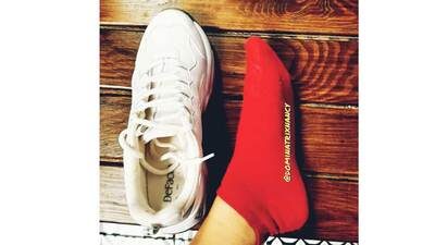 159129 - HOW I CHANGE MY SHOES, SOCKS AT THE GYM