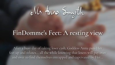 165071 - FinDomme's Feet: A resting view