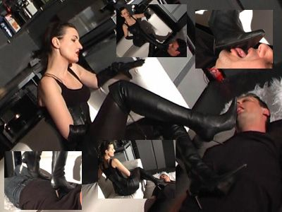 15157 - Lick my boots and trampling the slave Part 1