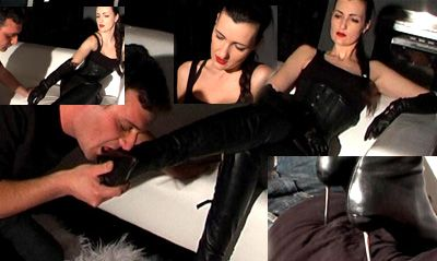 15161 - Lick my boots and trampling the slave Part 2