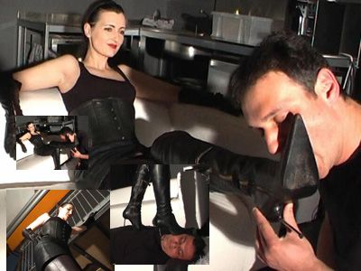 15262 - Lick my boots and trampling the slave Part 3