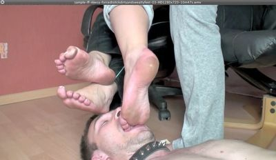 17049 - FORCED TO LICK DIRTY AND SWEATY FEET