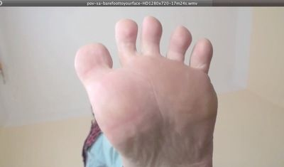 17642 - BARE FOOT TO YOUR FACE