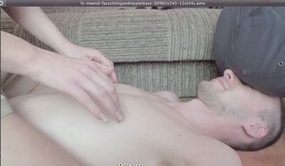 17861 - FACE SITTING AND NIPPLE TEASE