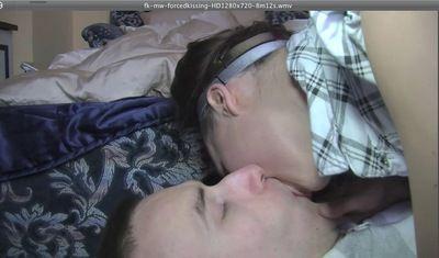 21032 - fk - mw - FORCED KISSING