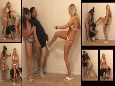 21487 - Ball Busting Beach Babes - Part 1