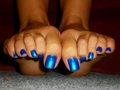 23376 - Electric Blue toe Wiggle
