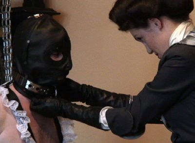 43201 - Strict Governess of the Manor-- Cleaning Sissy