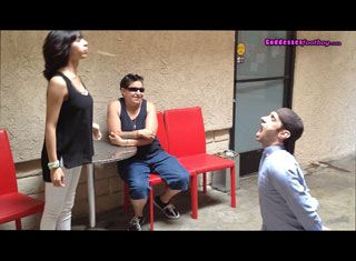 62807 - Erika Invites A Stranger To Watch Her Degrade Her slave