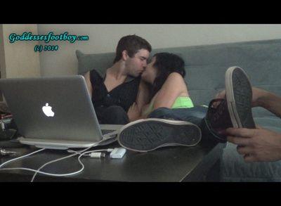 74802 - Rude Young Couple Humiliates cuckold (Part II)