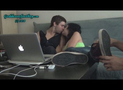 74812 - Rude Young Couple Humiliates cuckold (Part II)