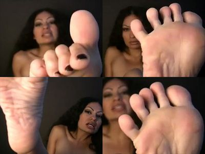 29133 - Diva Sara Akeera in Footslave Instructions