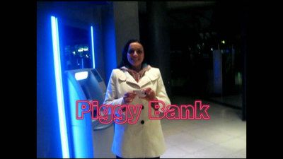 35079 - Human Cash ATM, Piggy Bank