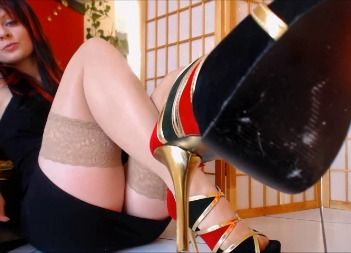 82821 - Just a short moment... Paypig Heels Worship