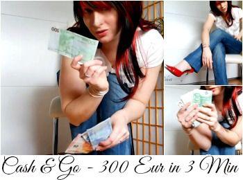 82846 - Cash & Go Date - 300 EUR in 3 Min