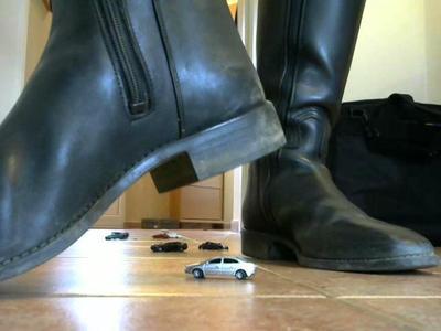 95297 - Deine teuren Modellautos werden zu staub zerstampft