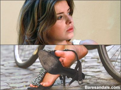 44712 - Eleonora, Italian high heels after bicycle