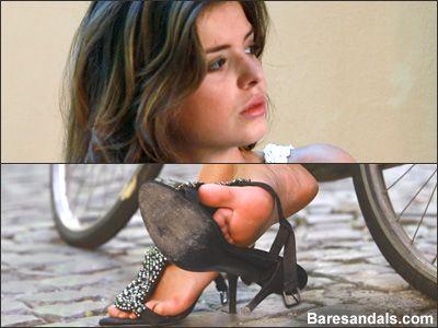 44712 - Eleonora, Italian high heels after bicycle