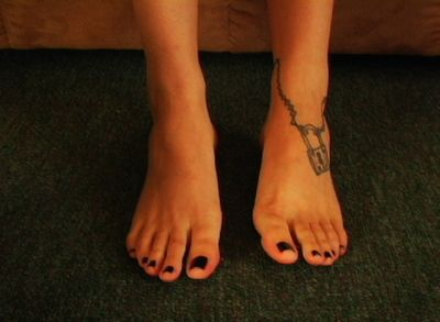 24041 - Birthday Black Pedi