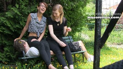 146345 - Mina & Celeste Sit on a Boy 2 (HD)