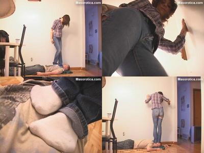 28788 - Courtney's First Trampling Experience!