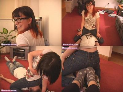 56476 - Kate Introduces Julia to SMOTHERING! (Part 1 of 2)