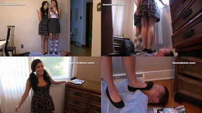 59688 - Jenni Introduces Becca to Trampling!