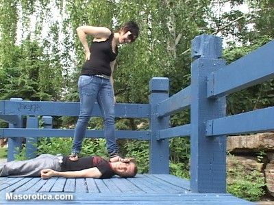 71223 - Nadia's First Trampling Experience