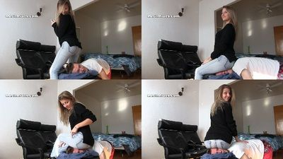 80353 - Chanel Sits on a Boy's Head 3
