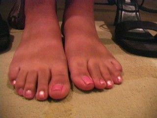 26062 - Jada In White Short Set Nightie and Pink Toes