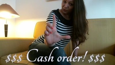 95337 - $$ Cash Order $$ - I get everything i want, Cashcow!