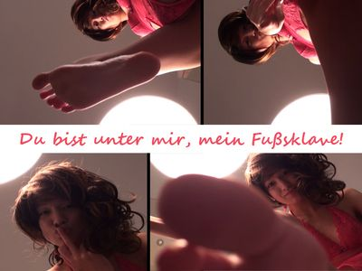 37043 - I crush you, with my bare feet!