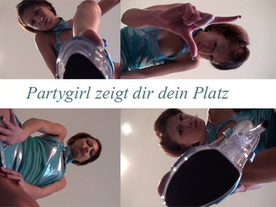 38369 - Party girl shows you your place!