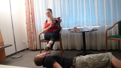 37180 - jennys shoe and foot slave