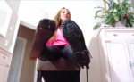 Nylons in boots
